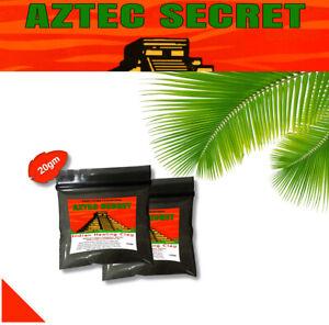 Aztec Secret INDIAN HEALING CLAY 100% Natural calcium bentonite Face Mask 20g