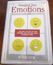 Joyce Meyer  Managing Your Emotions 6 tapes  VERY NICE