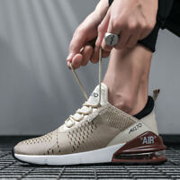 Men's Air Max 270 Flyknit Running Jogging Sports Shoes Cushion Athletic Sneakers