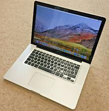 Apple MC372B/A MacBook Pro i5 2.53 GHz 4GB RAM 250GB SSD!! Laptop - Silver 2010
