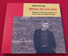 CD: John Irving - Witwe für ein Jahr - gelesen von John Irving / Holger Teschke