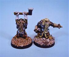 Grenadier painted miniature Dwarves (2)