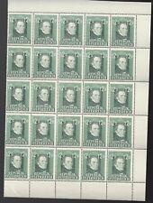 Austria Partial Sheet 12 G Issue Franz Schubert