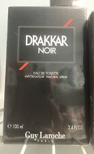Guy Laroche Drakkar Noir 3.4oz Men's Eau de Toilette New In Sealed Box!