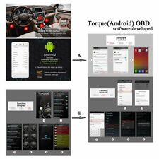 iCar 2 EOBD OBD 2 Diagnose WIFI + Torque Adapter Auto Check  Android & iOs APP