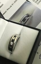 Diamond Band White Gold Fine Rings