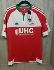 New England Revolution MLS Soccer UHC United Adidas Jersey Youth XL  NWT