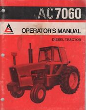 MAY 1976 ALLIS-CHALMERS DIESEL TRACTOR A=C 7060 OPERATOR'S MANUAL 269528 (383)