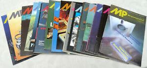 24 Hefte Mikroprozessortechnik 1988 - 1990, Computerzeitung DDR