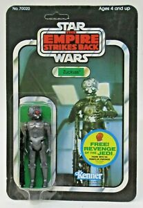 1982 ESB Star Wars ZUCKUSS 48 BACK Mint on unpunched clear Card