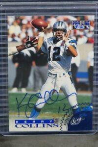 1996 Classic Pro Line Kerry Collins Auto Autograph #178/1996 D964