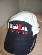 2019 Subaru Ironman Canada Strapback Polyester Finisher Hat- Wh 00004000 istler, B.C.