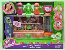 NEW 2004 POLLY POCKET TOTALLY BEAD-IFUL JEWELRY MAKER GIRLS ACCESSORIES PLAYSET