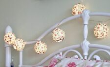 10 Chinese Lanterns LED Fairy String Lights Bedroom Wedding Party Decorations