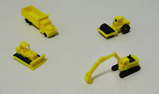 Outland Models Railway Miniature Heavy Construction Vehicle Set N Scale 1:160