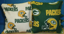 8 Green Bay Packers NFL Print Cornhole Bag Set ~FREE SHIPPING! ~Baggo Corn hole