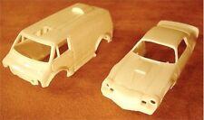 1980 TYCO TEST SHOTS Van & Chevy Camaro Z28 Slot Car