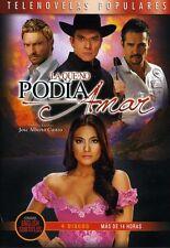 LA QUE NO PODIA AMAR - TELENOVELA -4 DVDS - BRAND NEW - LATIN