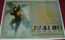 Cinema Poster: AT PLAY IN THE FIELDS OF THE LORD 1991 (Quad)