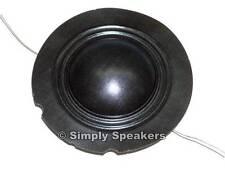 EV  Factory Speaker Diaphragm Electro Voice FR10 FR12 FM12C Tweeter Repair Part