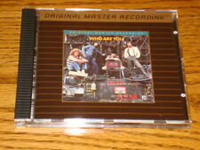 """THE WHO """"Who Are You"""" MFSL 24-Karat Gold CD Made in Japan Mint!"""