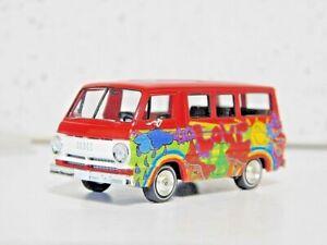 Brekina 34319 HO Dodge 100A Hippie  Love Van NIB