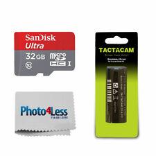NEW TACTACAM ULTRA MICRO SD 32GB MEMORY CARD FOR SOLO//4.0//5.0//5.0 WIDE CAMERA