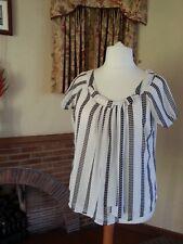 Ladies CREMA Cravatta Nera Girocollo da M&S Limited Collection-Taglia 14
