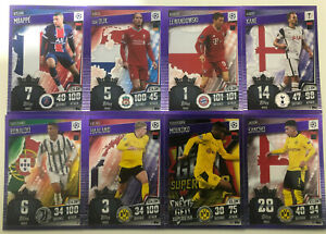 Match Attax 101 2021 Europa Champions League Purple Parallel Selection 2020-21