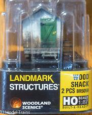 Woodland Scenics #5058 Wood Shack - Built-&-Ready  Landmark Structures  --