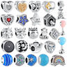 Fashion European Silver Charms Beads Jewelry Fit For Sterling Bracelet Chain Hot