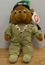 """Vintage Native American Teddy-bear Goffa 18"""" Plush  103119DBT2"""