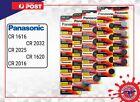 Panasonic CR2032 CR2025 CR1616 CR1620 CR1632 CR2450 CR2016 CR2430 Li Battery 3V  <br/> CR2032 CR2025 CR1616 CR1620 CR1632 CR2450 CR2016 CR2430
