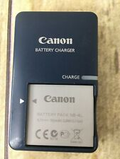 Canon Battery Charger CB-2LV G with NB-4L Battery Tested Charges