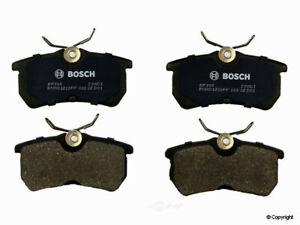 Disc Brake Pad Set-Bosch QuietCast Rear WD Express 520 08860 462