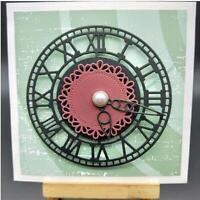 The clock Metal Cutting Dies DIY Scrapbooking Album Photo Decoration Embossing