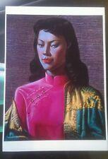 Tretchikoff Miss Wong beautiful A3 print retro kitsch vintage
