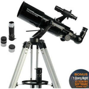 Celestron PowerSeeker 80AZS Refractor Telescope Kit f5 AZ #21087 (UK Stock) BNIB