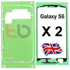 FRAME BEZEL STICKER / BACK COVER ADHESIVE TAPE  for Samsung Galaxy S6 G920 G920F