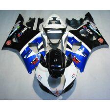 Painted ABS Plastic Fairing Bodywork For SUZUKI GSXR 1000 GSX-R 1000 2003-2004