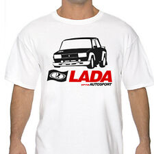 Lada VFTS Autosport Rally White or Gray T Shirt wrc 2105 2107 WRC