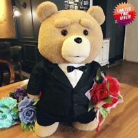 Ted 2 Movie Teddy Bear Plush Toys Soft Stuffed Animals Present Gift Style 45cm