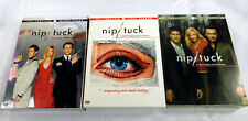Nip / Tuck Seasons 1 2 3 DVD's Excellent Condition