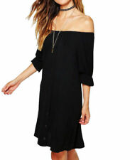 Casual Dresses Shift with Bell Sleeve