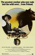The Frisco Kid poster (b) - 11 x 17 inches - Harrison Ford, Gene Wilder