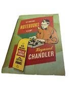 Notebooks of Raymond Chandler & English Summer a Gothic Romance FREE SHIPPING
