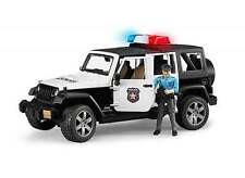 Bruder 02526 Jeep Rubicon Police Car w/ Policeman Figure MIB/New