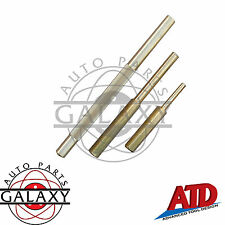 """New ATD 3 Piece Non-Sparking Brass Punch Set 1/4x4"""" & 3/8x6"""" Pin Punch & 1/2""""x8"""""""