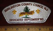 Burlington County Council SA-8 (Pine Tree Dedication 1993) CSP - MINT
