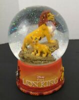 Disney Lion King Water Globe Made by Hallmark Simba and Musafa